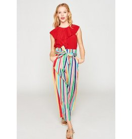 Tara Jarmon Tara Jarmon Multicolor Stripe Trousers