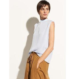 Vince Vince Mock Neck Blouse