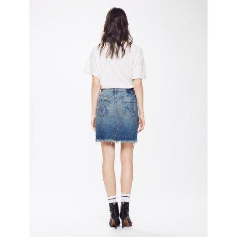 Mother Mother Tomcat Mini Skirt Fray