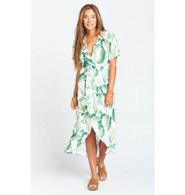Show Me Your Mumu Show Me Your Mumu Zip Twisted Maxi Dress