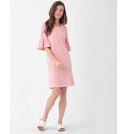Splendid Splendid Ruffle Sleeve Tee Dress