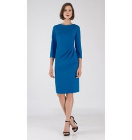 Bigio Bigio Crepe Waist Draped Dress