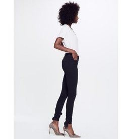 Mother Mother High Waist Tie-Bow Looker Ankle