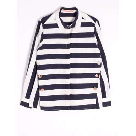 Vilagallo Martina Stripe Shirt