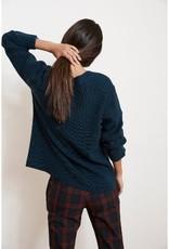 Velvet Velvet Tayen Engineered Stitches V-Neck Sweater