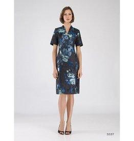 Bigio Bigio Floral V-Neck Dress