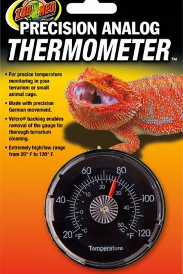 Zoomed Thermomètre analogue de précision