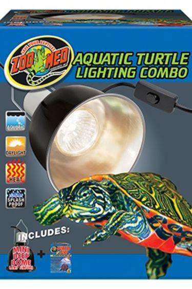 Zoomed Combo d'eclairage pour tortue aquatique