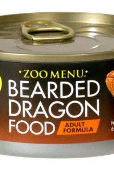 "Zoomed Nourr. ""Zoo Menu"" pour barbu adulte 6 oz."