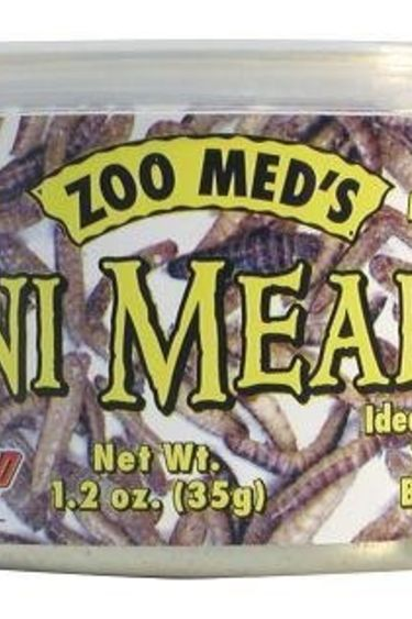 Zoomed Can O'Mini vers de farine 1.2 oz.