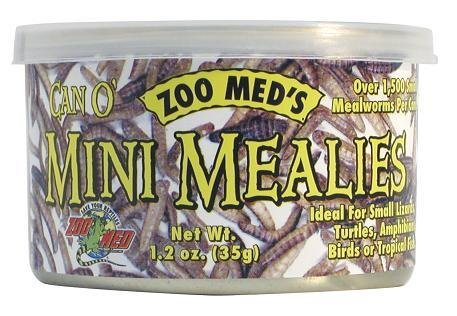 Zoomed Can O'Mini vers de farine 1.2 oz. - Can O' Mini Mealies
