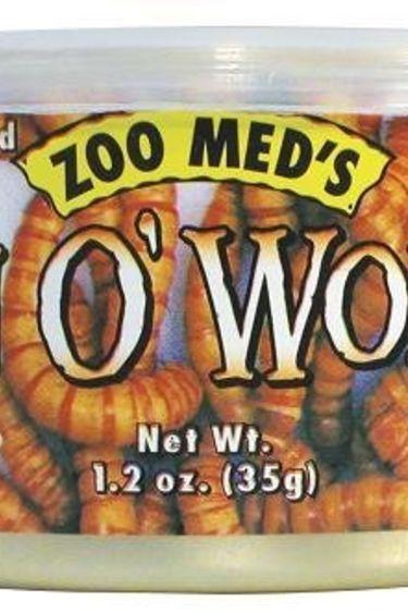 Zoomed Can O'Vers de farine 1.2 oz.