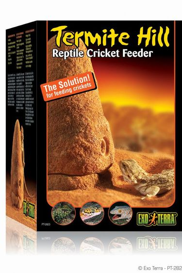 Exoterra Distributeur de grillons style termitiere