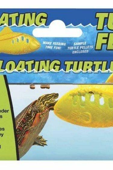 Zoomed Distributeur à granules flottantes pour tortue