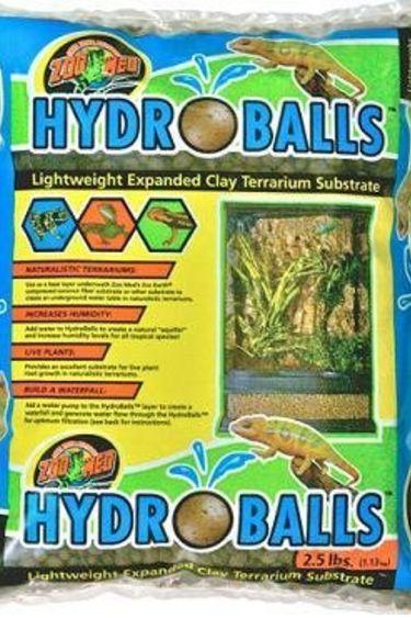 "Zoomed Substrat d'argile elargit ""Hydro Balls"" 2.5 lbs"