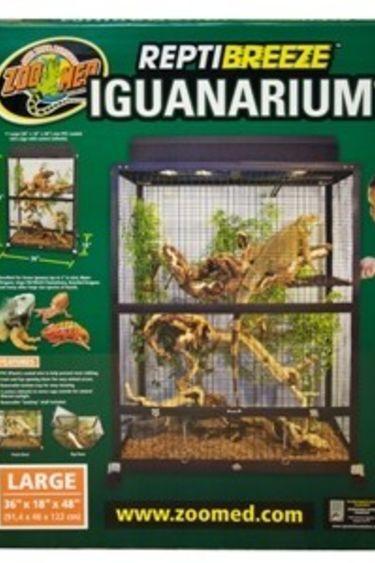 "Zoomed Iguanarium ""Reptibreeze"" 36""x18""x48"""