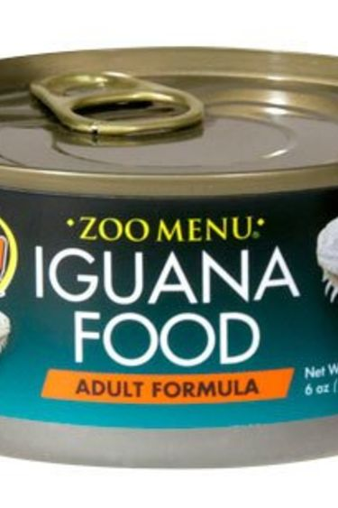 "Zoomed Nourr. ""Zoo Menu"" pour iguane adulte 6 oz."