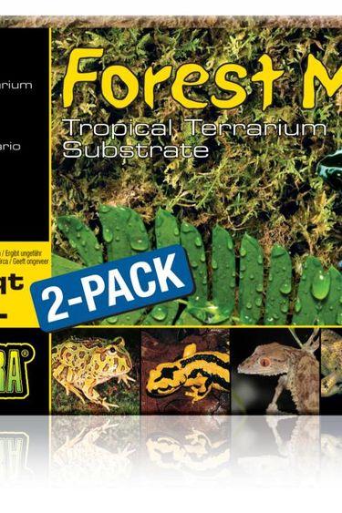Exoterra Mousse de foret 2 X 7 pte – Forest moss