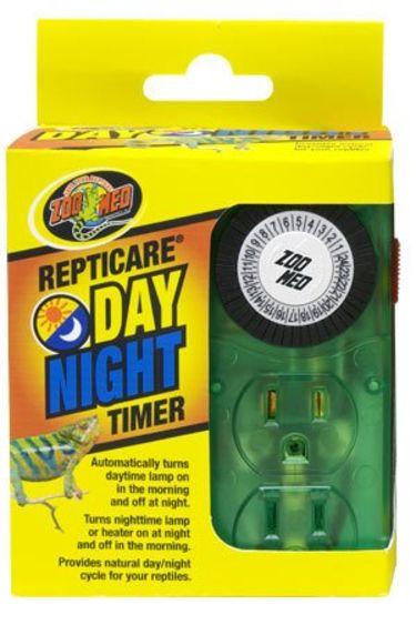 Zoomed Minuterie jour et nuit pour terrarium