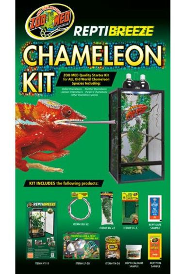 "Zoomed Kit  ""Reptibreeze"" pour cameleon 16""x16""x30"" NT-11CK"
