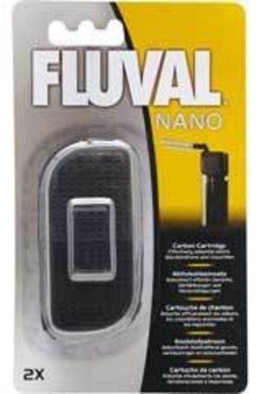 Fluval Cartouche de charbon pour nanoaquarium