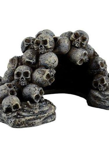 Origins Cachette pile de crânes