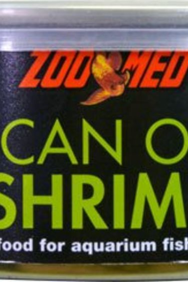 Zoomed Can O'Crevette 1.2 oz. nourriture a poissons