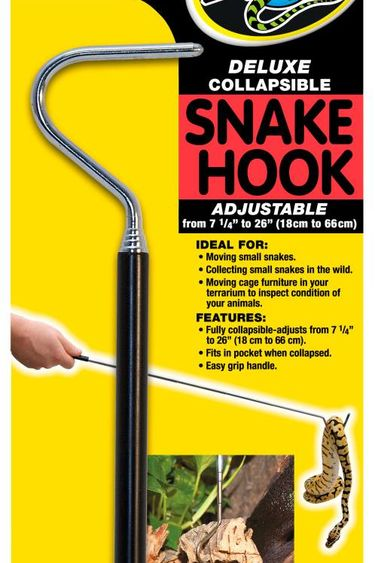 Zoomed Crochet ajustable pour serpent - Adjustable snake hook