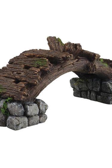 Treasures underwater Pont d'apparence en bois