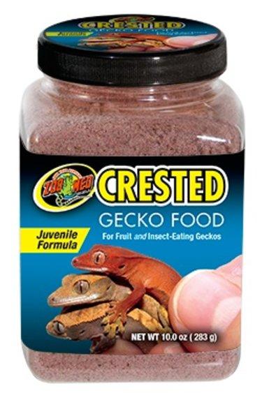 Zoomed Nourr. pour gecko à crête juvénile