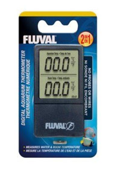 Fluval Thermomètre num. sans fil FL 2 en 1