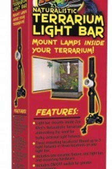 Zoomed Barre lumineuse pour terrarium