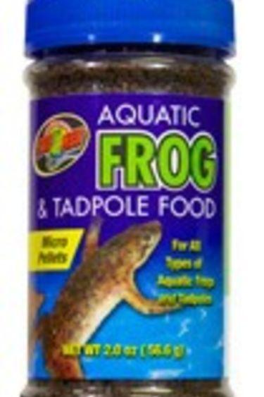 Zoomed Nourriture pour grenouille et tetart