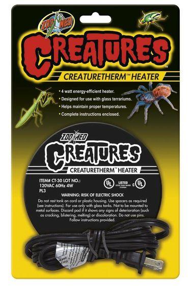 Zoomed Plaque chauffante - Série Creatures