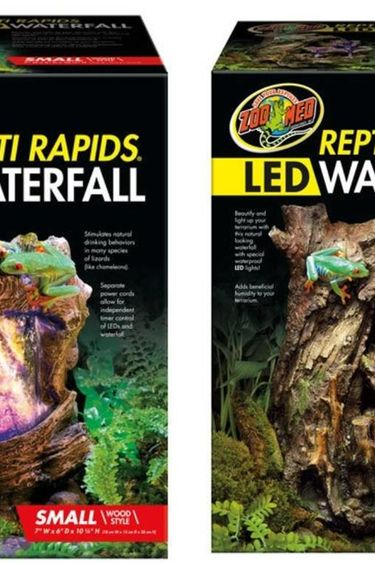 "Zoomed Cascade LED ""Repti Rapids"" branche - Waterfall"