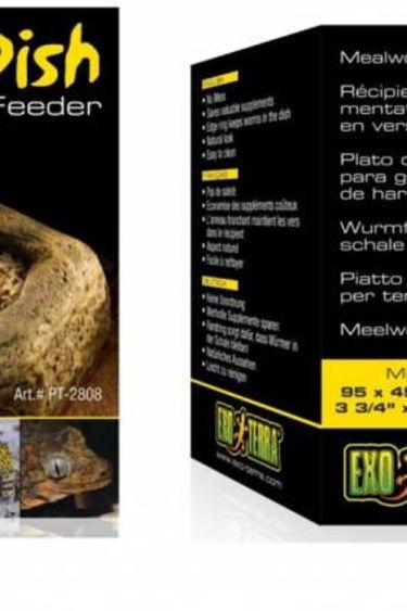 Exoterra Distributeur vers de farine – Worm dish distributor