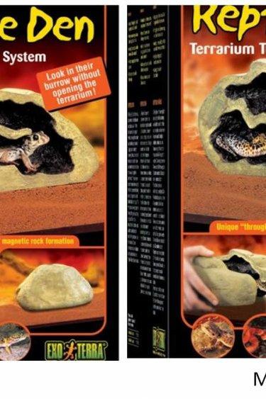 Exoterra Grotte magnétique pour reptile