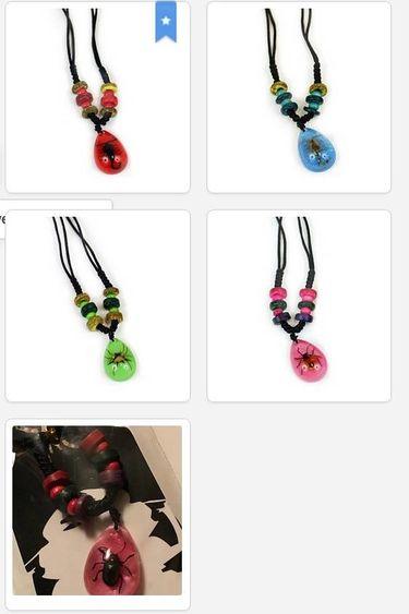 Magazoo Collier avec perles colorées