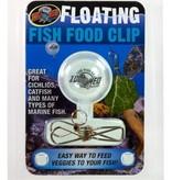 Zoomed Attache à nourriture flottante pour poissons - Floating Fish Food Clip