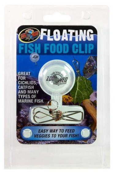 Zoomed Attache à nourriture flottante pour poissons
