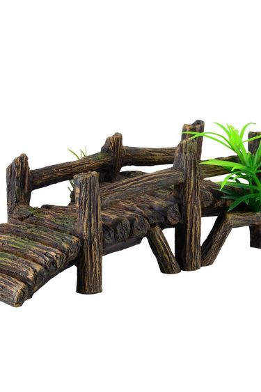 Treasures underwater Wooden Dock