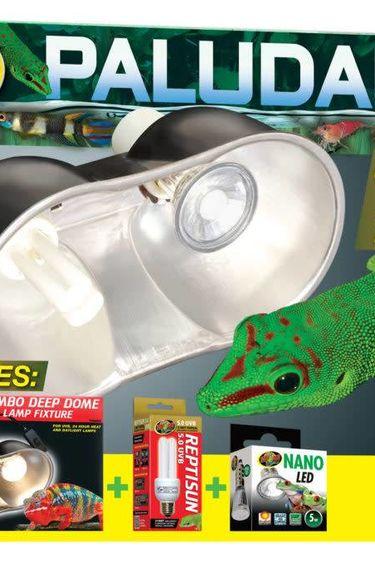 Zoomed Kit d'éclairage pour Paludarium UVB & croissance des plantes