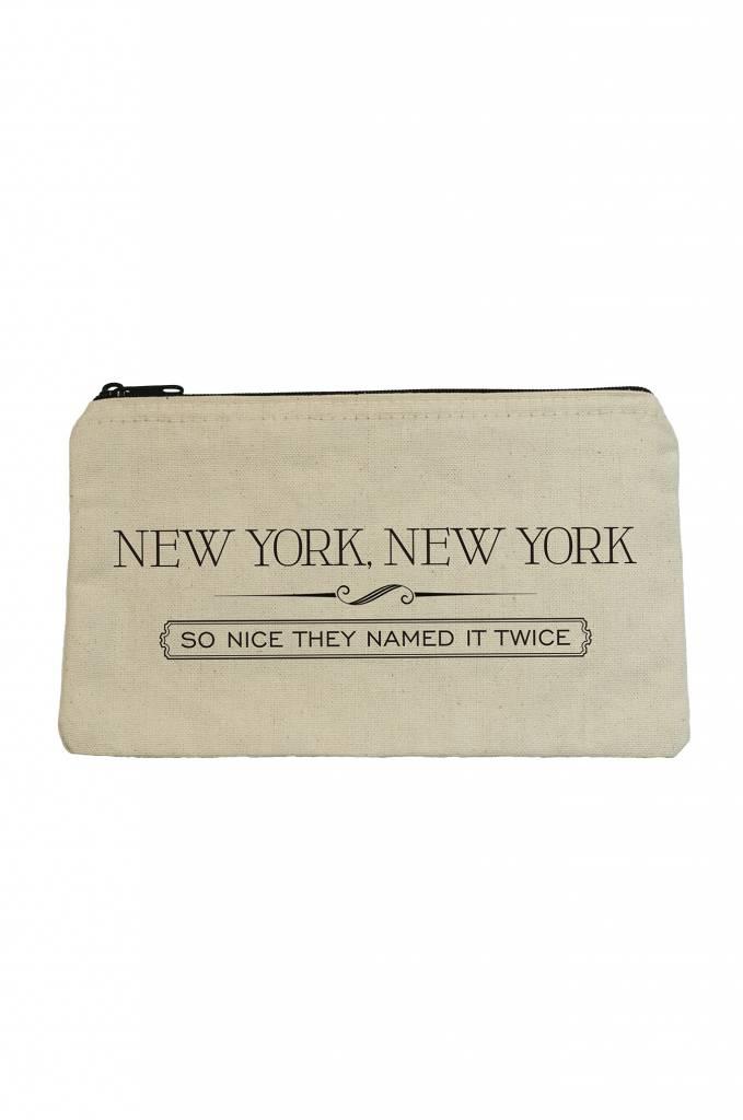 Seltzer Zip Pouch - New York New York