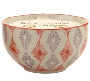 PADDYWAX BOHEME 7 OZ. HAND PAINTED BOWL PASSIONFRUIT AND GUAVA