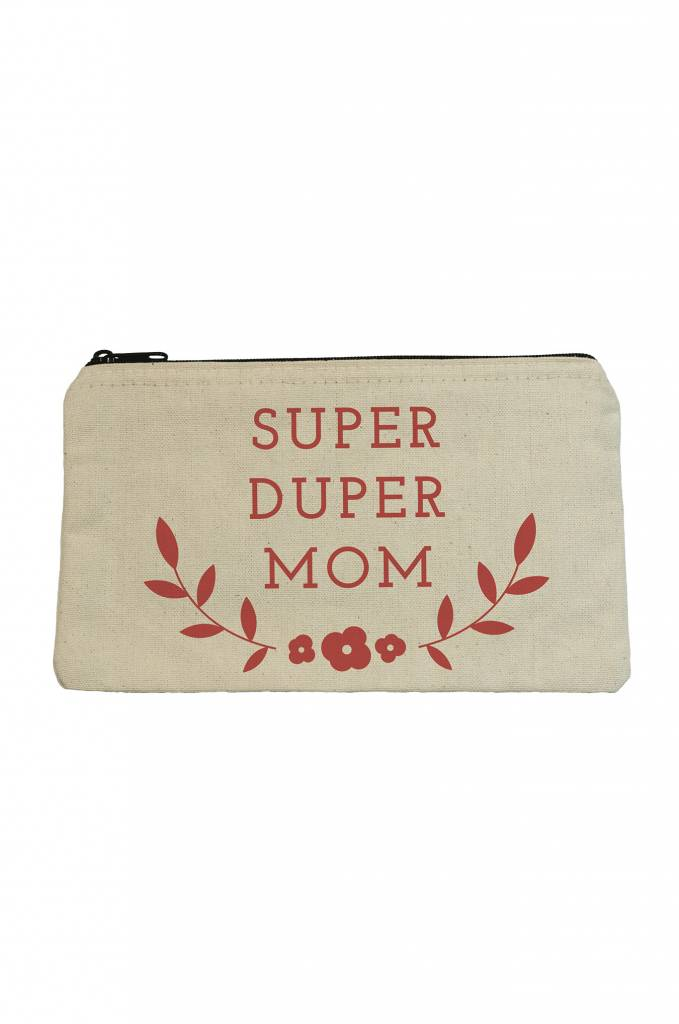 Seltzer Zip Pouch - Super Duper Mom