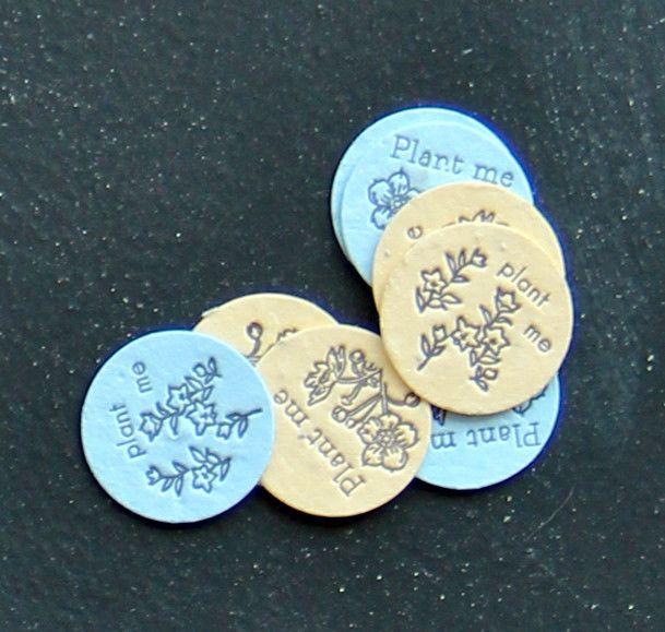 Lovewild Seed Coins - Parsley & Oregano