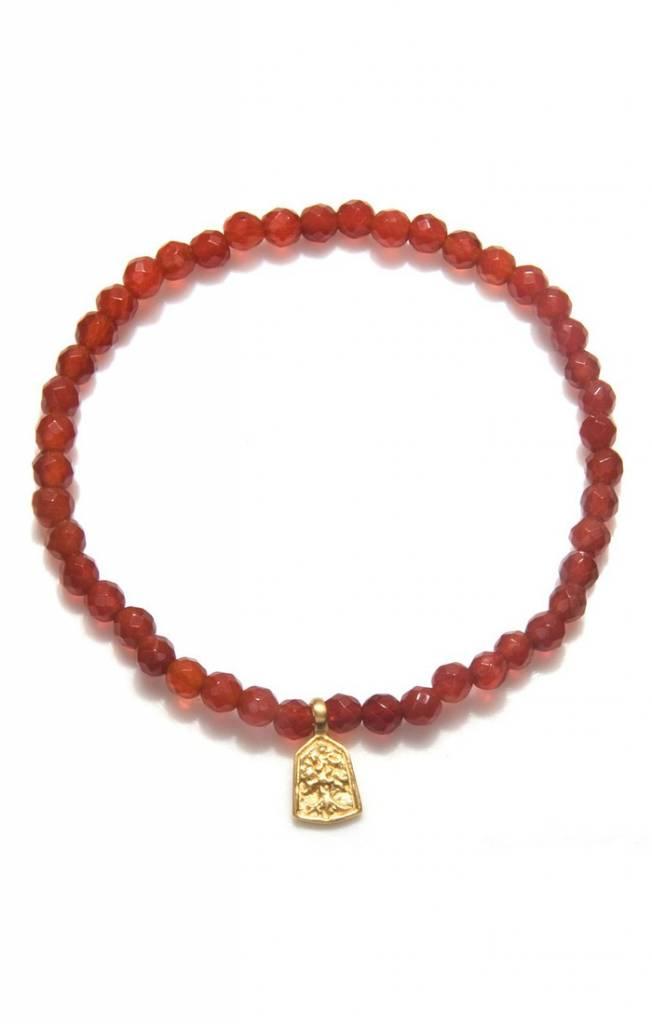 Satya Satya Carnelian Tree of Life Bracelet