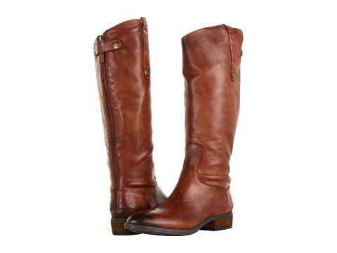 Sam Edelman Sam Edelman Penny Wide Calf - Whiskey - CLEARANCE