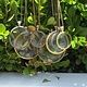 We See Stars Small Looking Glass Pendant Gold