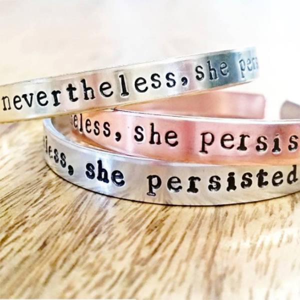 Rockaway Gypsea Nevertheless, She Persisted - Copper